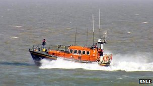 Eastbourne RNLI lifeboat