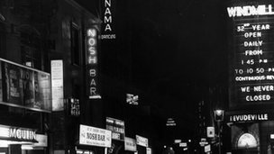 Windmill Theatre, Soho, in 1933