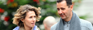 Asma Assad and husband Bashar