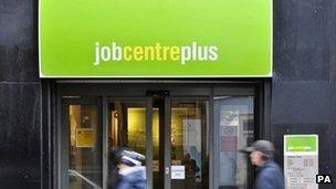 General view of a Job Centre Plus