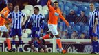 Matt Phillips celebrates Balckpool's opener
