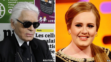 Adelle, Karl Lagerfeld, Chanel, fat