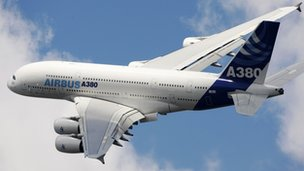 A380 wings are made in the UK