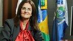 Petrobras CEO Graca Foster