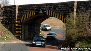Inveramsay Bridge [Pic: Press and Journal]