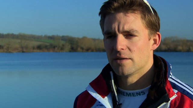 British Rower Pete Reed