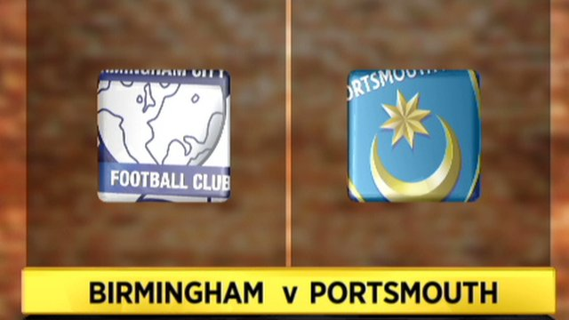 Birmingham 1-0 Portsmouth