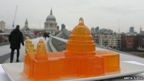 Jelly St Paul's Cathedral