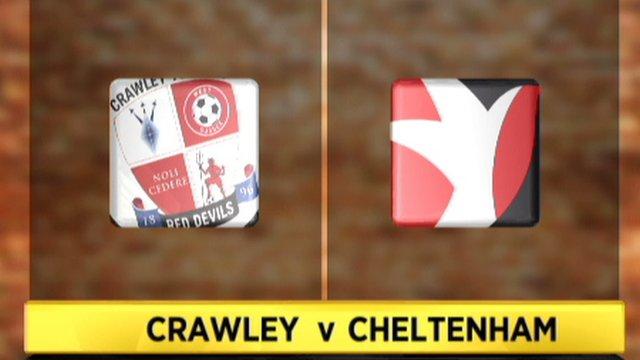 Crawley 4-2 Cheltenham