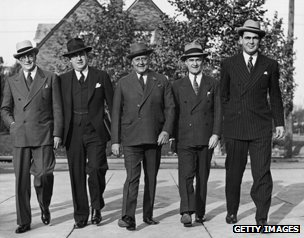 Businessmen in the 1940s