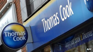 Thomas Cook shop front