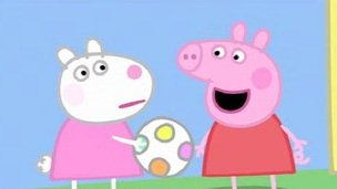 Scene from Peppa Pig