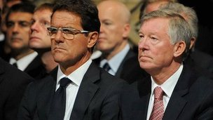 Fabio Capello, Sir Alex Ferguson