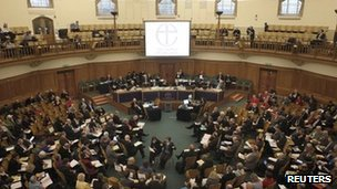 Opening of the General Synod on 6 February 2012