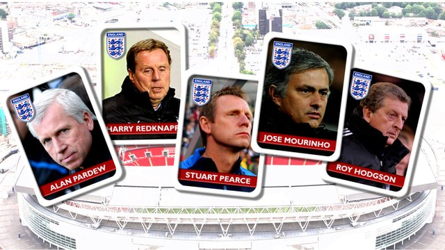 England Manager contenders