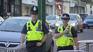 Dorset Police officers