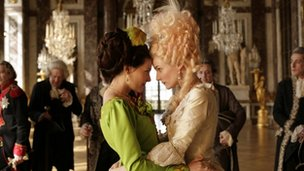 Lea Seydoux and Diane Kruger in Farewell My Queen