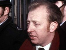 Arthur Scargill interviewed outside the coke works