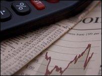 Calculator, financial paper