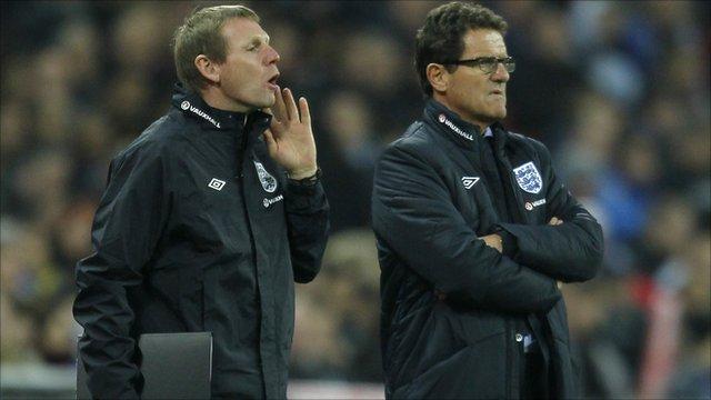 Stuart Pearce and Fabio Capello