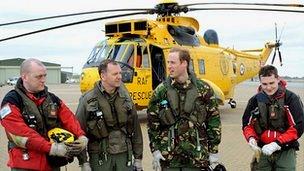 RAF Search and Rescue crew