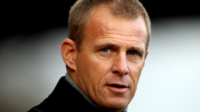 Stevenage boss Gary Smith