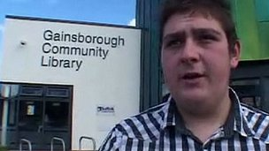 Ryan Jay at Gainsborough Community Library
