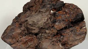 The 1.6ft (0.5m) meteorite has been on Earth for 30,000 years