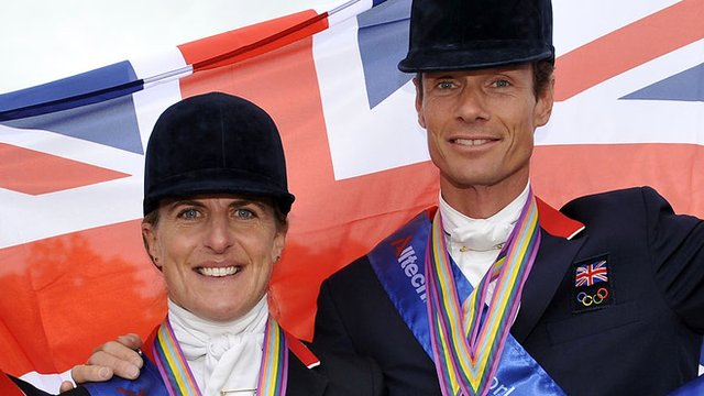 Tina Cook and William Fox-Pitt