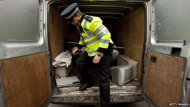 Police check for metal theft
