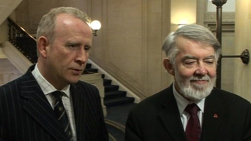 Graham Evans and Paul Flynn