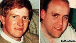 John Graham and David Johnston