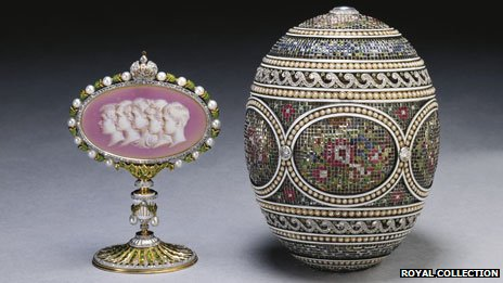 Faberge Egg - image courtesy of The Royal Collection © 2012, Her Majesty Queen Elizabeth II