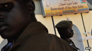 SPLA soldiers in Unity state (Archive shot)