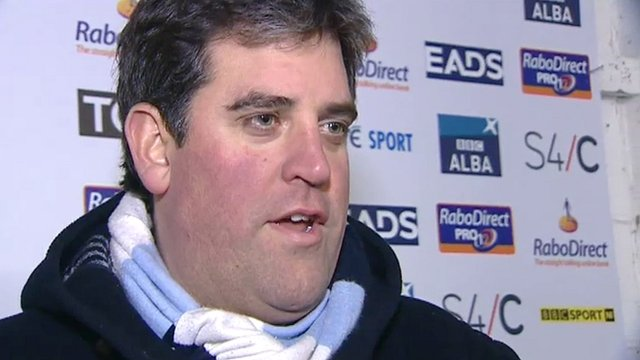 Cardiff Blues chief executive Richard Holland