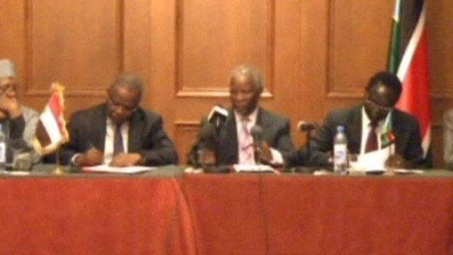 Sudan and South Sudan have signed a treaty of non-aggression.