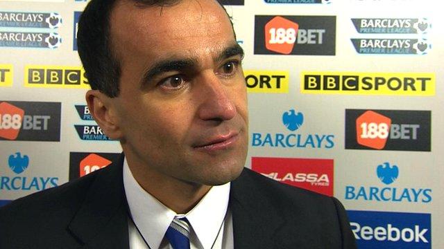 Wigan's Roberto Martinez
