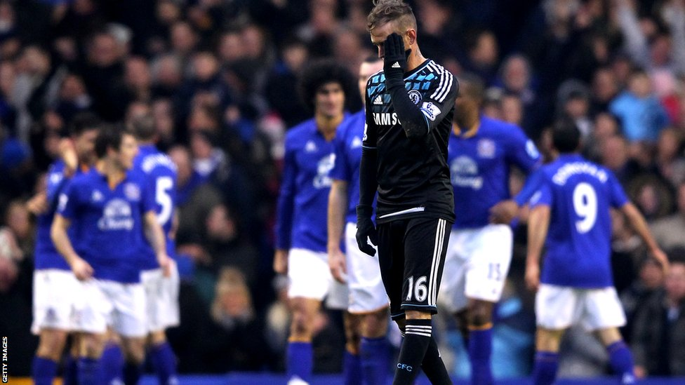 Raul Meireles looks dejected