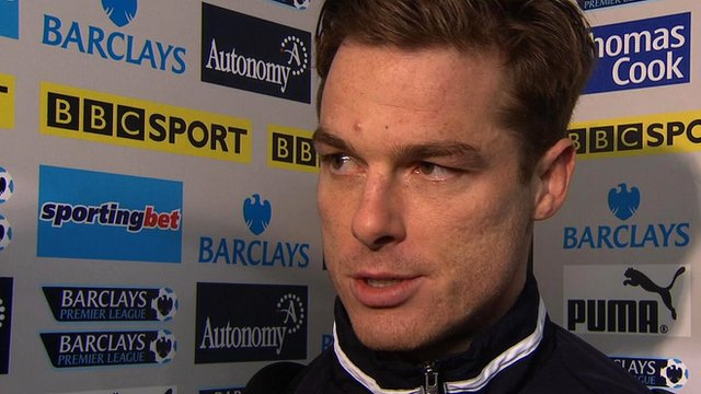 Tottenham and England midfielder Scott Parker