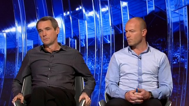 Alan Hansen and Alan Shearer