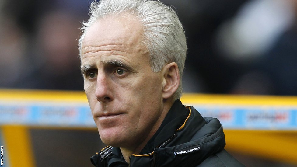 Wolves Manager Mick McCarthy looks on at the Wolves v WBA match
