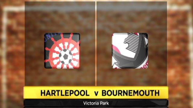 Hartlepool v Bournemouth