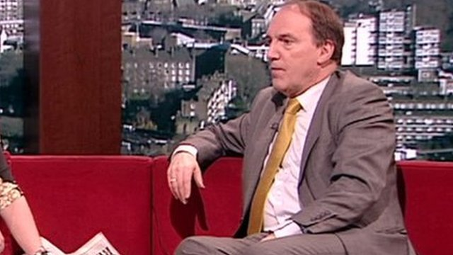 Simon Hughes MP, Liberal Democrat deputy leader on the Andrew Marr show
