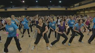 Zumba record attempt