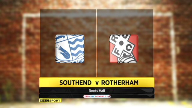 Highlights - Southend 0-2 Rotherham