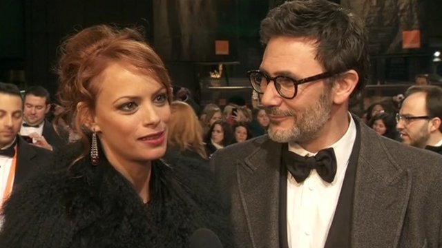 Berenice Bejo and Michel Hazanavicius
