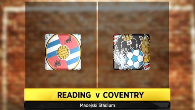 Reading v Coventry