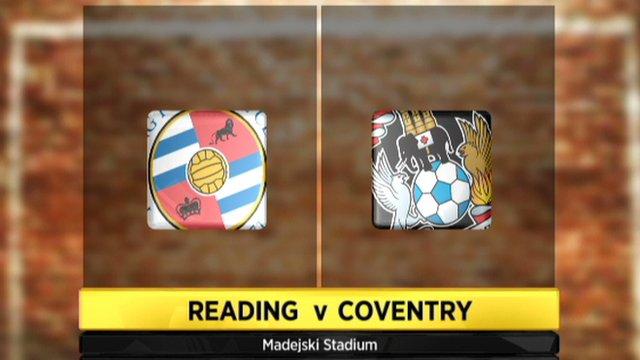 Reading v Coventry