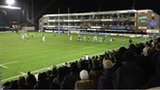 A crowd of 8,000 turned out to watch Cardiff Blues against Connacht on Friday night