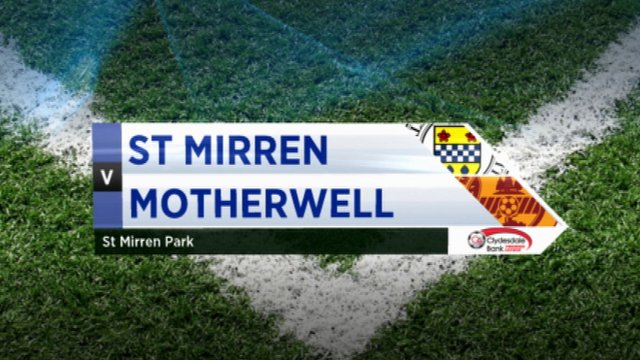 Highlights - St Mirren 0-0 Motherwell